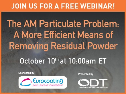 The AM Particulate Problem: A More Efficient Means of Removing Residual Powder